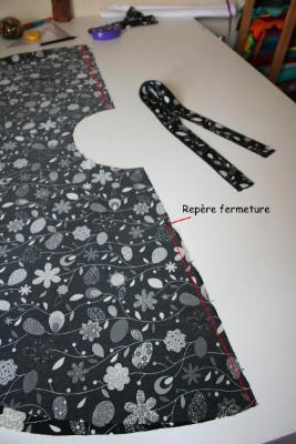 coudre la jupe cercle self couture. Black Bedroom Furniture Sets. Home Design Ideas