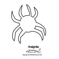 Gabarit araignee pour applique