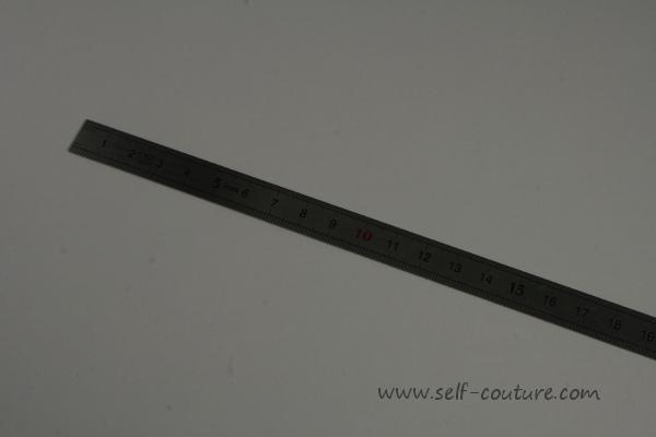 Cours de couture d butant mat riel de base pour la couture self couture - Regle pour mesurer ...