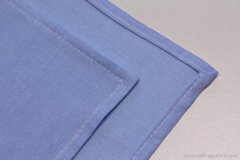 ourlet serviette