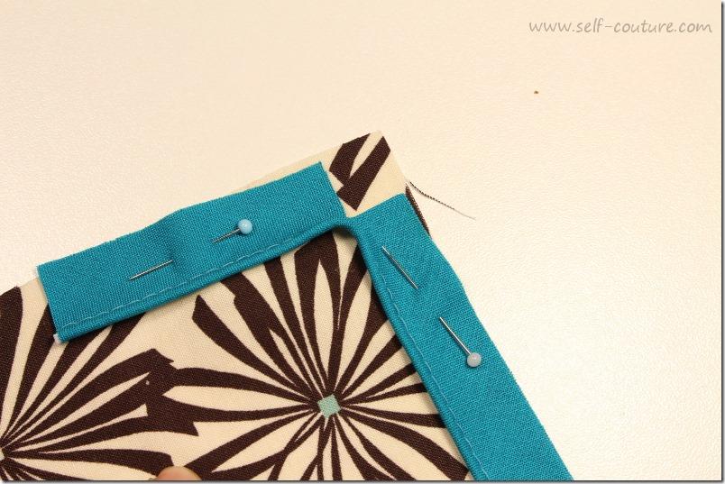 Comment coudre le passepoil self couture - Assembler deux planches angle droit ...