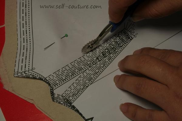 materiel de base couture papier calque