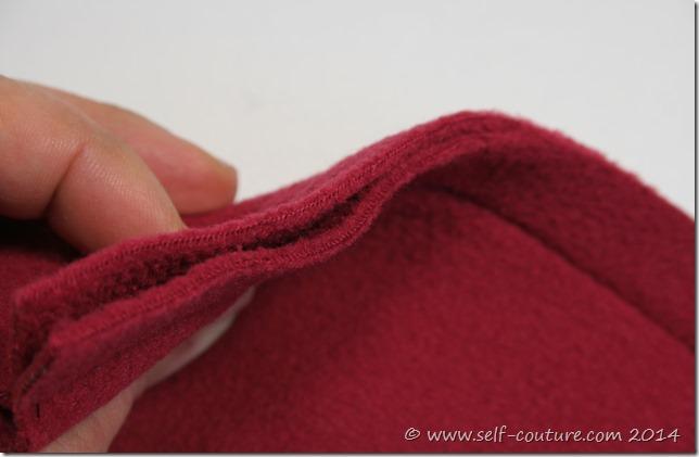 surfiler tissu polaire