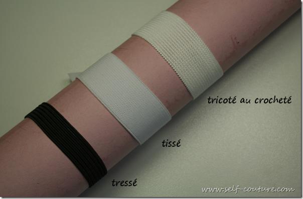 elastiques types