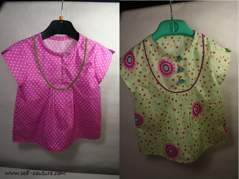 chemise mara 1 et 3 ans