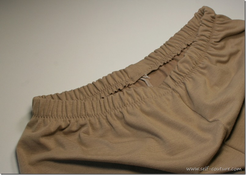 couture taille elastique