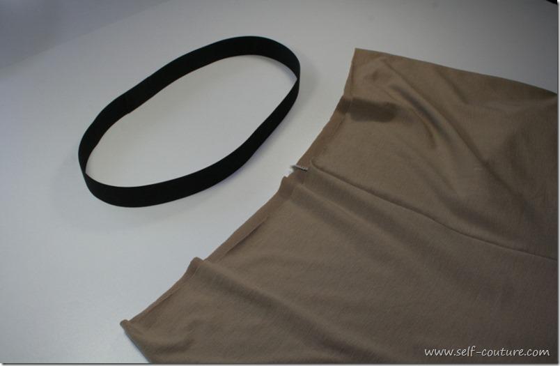 taille elastique pantalon