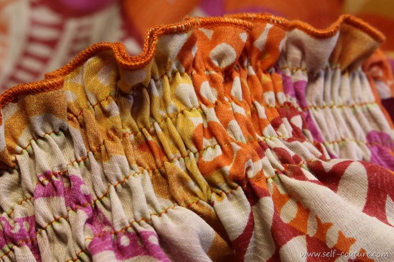 Coudre des smocks avec du fil lastique self couture for Coudre a 8 ans