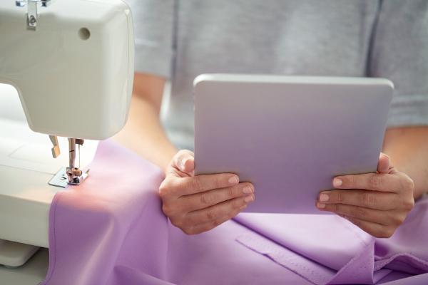apprendre la couture tablette