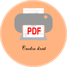 pdf Apprendre à coudre droit