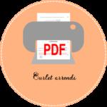 3.3 icon pdf Ourlet arrondi