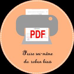 4.3 icon pdf Faire soi-même du ruban biais