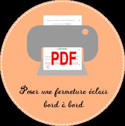 5.2 icon pdf Poser une fermeture éclair bord à bord