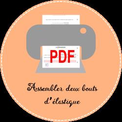 6.2 icon pdf Assembler deux bouts d'élastique