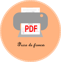 7.1 icon pdf Faire de fronces